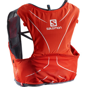Salomon Adv Skin 5 Bag Set Fiery Red/Graphite